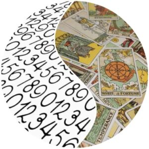 Kombinace numerologického rozboru a výkladu karet